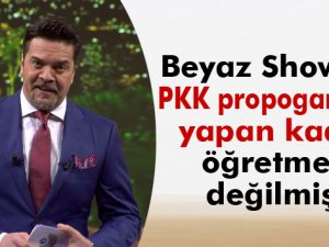 Beyaz Show'da PKK propogandası