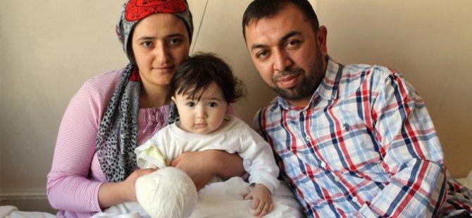 Kayseri'de Parmağı Kopan çocuğun tedavi Konya'da yapıldı