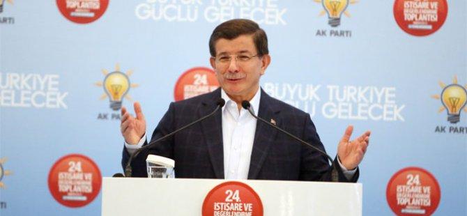 Davutoğlu'dan terör operasyonlarına ilişkin açıklama