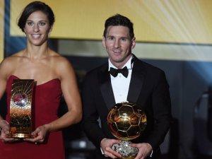 2015 Yılın en iyi futbolcusu Messi