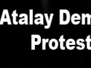Atalay Demirci'ye protesto