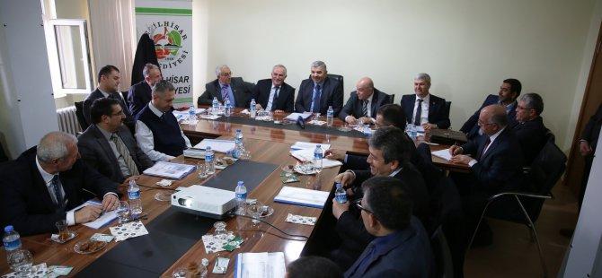 Başkan Çelik Yeşilhisar yatırım toplantısını yaptı