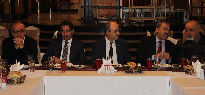 Bünyan Belediye Başkanı Gülcüoğlu basınla buluştu