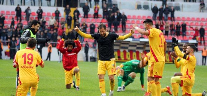 KAYSERİSPOR'DAN OSMANLI TOKADI:1-0