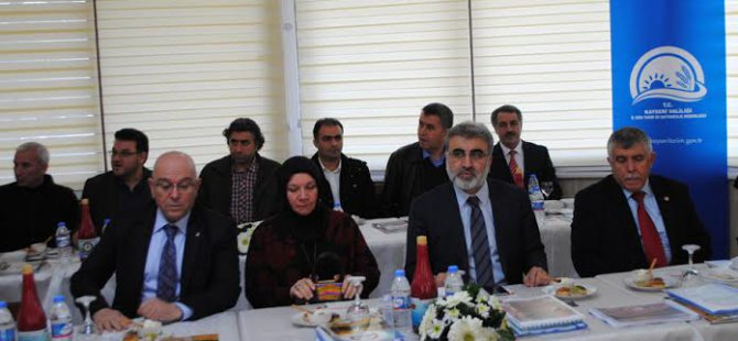 AK Parti Kayseri  Milletvekilleri Brifing aldı