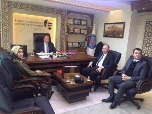 Başkan Kılıç Kocasinan Kaymakamı Candan'ı ziyaret etti