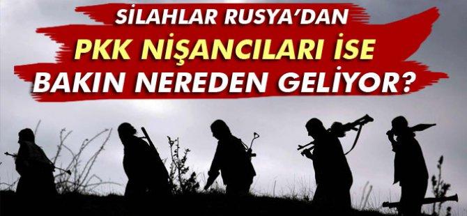 PKK nişancıları Avrupa'dan ithal