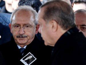 Erdoğan ve Kılıçdaroğlu'nun bir araya geldiği o anlar