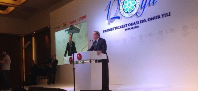 Erdoğan'dan Kılıçdaroğlu'na Kayseri'den kurşun sözler