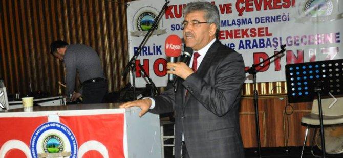 Başkan Ergül, Kululu ve Çevresi Sosyal Yardımlaşma Derneği'nin Arabaşı Gecesine Katıldı