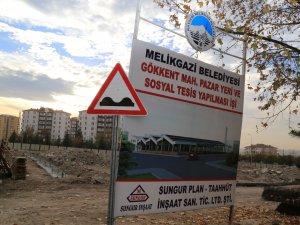 MELİKGAZİ'DEN GÖKKENT'E PAZARYERİ SOSYAL TESİSİ