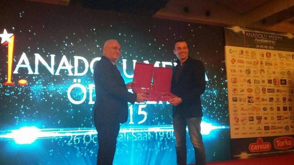 Bakan Elitaş Anadolu Medya Ödülleri Törenine Katıldı