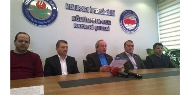KAYSERİ MEMUR-SEN'DEN BAYIRBUCAK TÜRKMENLERİNE YARDIM KAMPANYASI