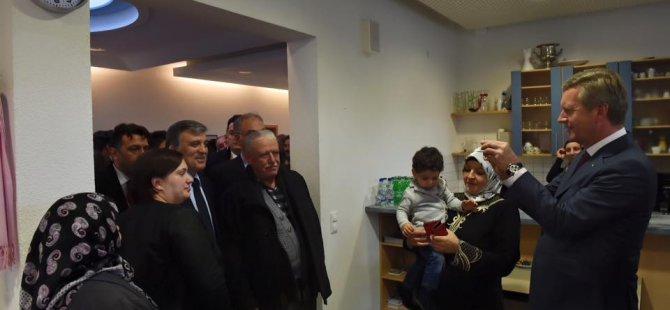 11.Cumhurbaşkanı Abdullah Gül Almanya'da