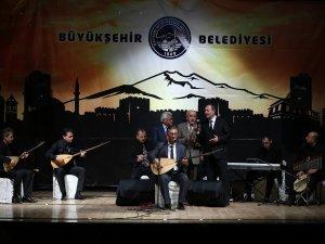 Kayseri'nin yetiştirdiği sanatçılar sahne aldı