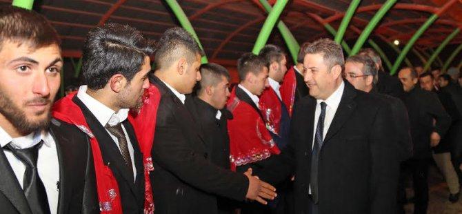 Talas'ta Başakpınar'da Kepez'de Kınalı Kuzulara Uğurlama