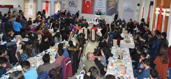 KAYSERİ ŞEKER'İN 3.GENÇLİK BULUŞMASINA YOĞUN İLGİ