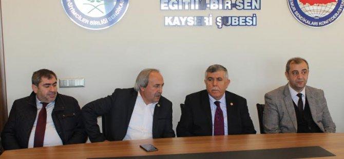 MİLLETVEKİLİ DEDEOĞLU, KALKAN'I ZİYARET ETTİ