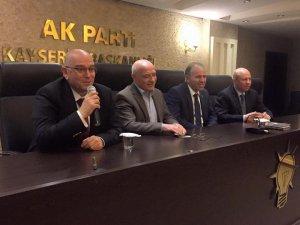 Tamer'den Kayseri için hızlı tren, tarım ve Havalanı projeleri açıklaması