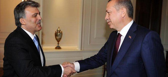 Cumhurbaşkanı Erdoğan ve Abdullah Gül Buluştu