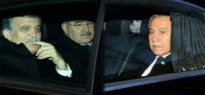 Abdullah Gül ile AK Parti'nin bazı kurucu isimleri Ankara'da bir araya geldi