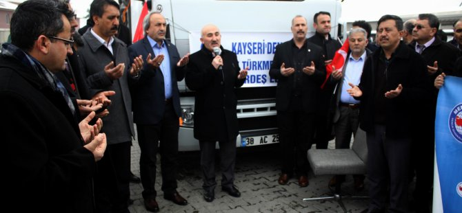 KAYSERİ MEMUR-SEN' DEN BAYIRBUCAĞA YARDIM
