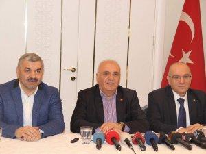 Bakan Elitaş, Kayseri'de basın mensupları ile bir araya geldi