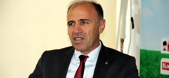 Ak Parti Kocasinan ilçe Başkanı Muammer Kılıç Başkanlık sistemi Recep Tayyip Erdoğan sistemi değildir