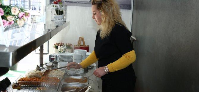 İremin Mutfağı adlı bir işyeri açan Fatma Karamustafaoğlu: