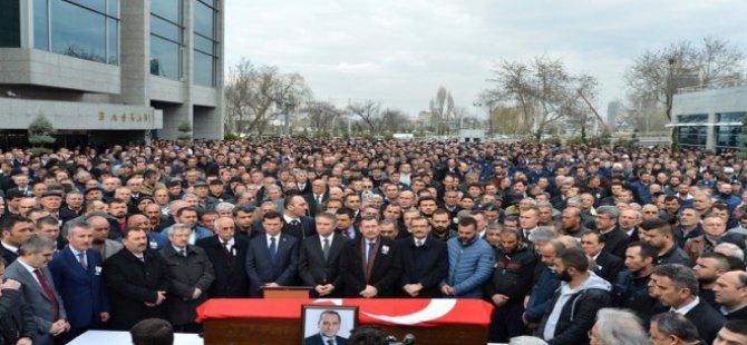 Bala Belediye Başkanı İbrahim Gürbüz'e son veda