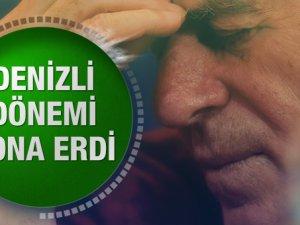 Mustafa Denizli istifa etti son dakika