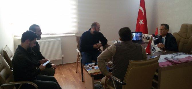 BAYIR BUCAK TÜRKMEN DERNEĞİ'NDEN ESDER'E ZİYARET