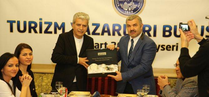 27 turizm yazarı Kayseri'ye geldi