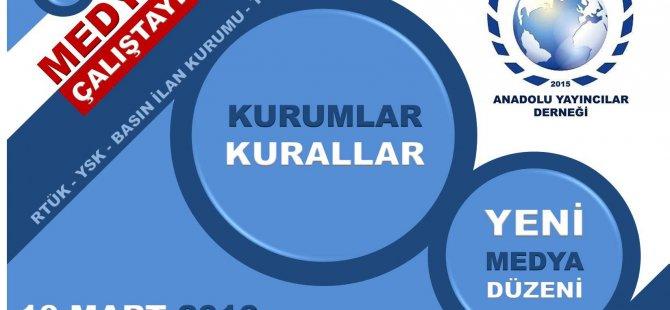 Anadolu Yayıncılar Derneği YSK ve RTÜK'ü masaya yatırıyor...