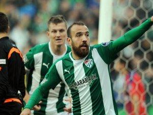 Bursaspor Galatasaray ile masada