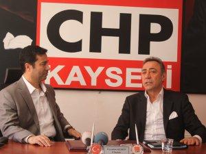 İSTANBUL MV.ŞİMŞEK'DEN CHP KAYSERİ İL BAŞKANLIĞI'NA ZİYARET