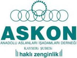 """ASKON KAYSERİ ŞUBE BAŞKANI ALİ ÖZCAN: """"ZAMAN BİRLİK OLMA ZAMANI"""""""