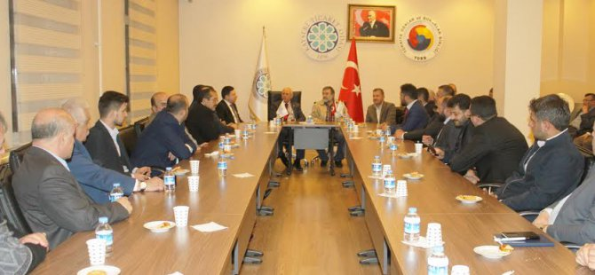 KTO yönetimi Taşköprü Ticaret ve Sanayi Odası heyetini ağırladı