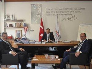 KAYSERİ ŞEKER'DEN  ORTA ANADOLU KALKINMA AJANSINA ZİYARET