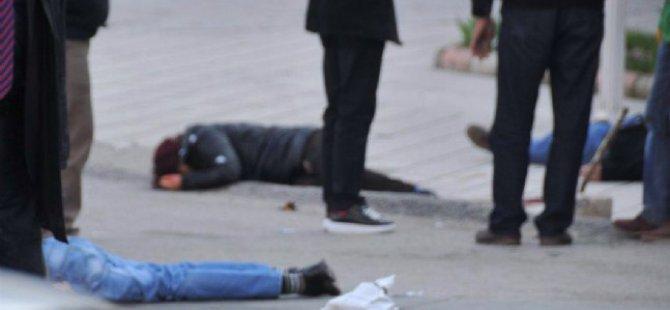 Mamak'ta Sokak ortasında cinayet