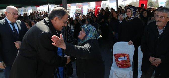 KAYSERİ, EVLADINI BAĞRINA BASTI!