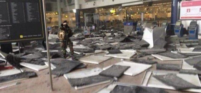 PKK' Çadırına izin veren Brüksel'de iki ayrı patlama: Yaralılar var