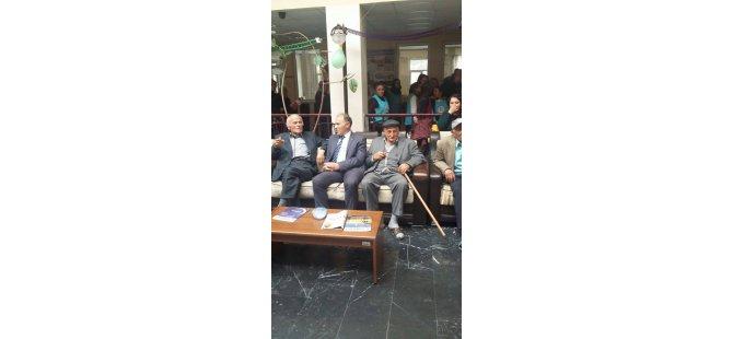 Ak Parti Kocasinan Teşkilatı'ndan Huzurevine Anlamlı Ziyaret