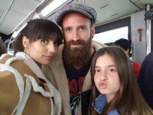 Fenerbahçeli Meireles ailesiyle birlikte metrobüse bindi