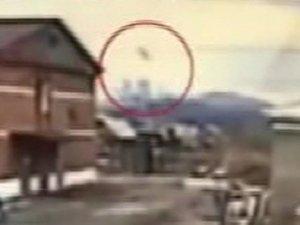 Rus savaş uçağının düşme anı kamerada