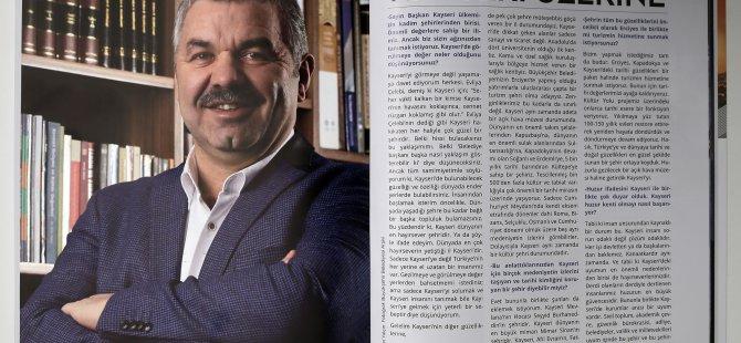 ÇELİK KAYSERİ'Yİ DÜNYAYA TANITIYOR