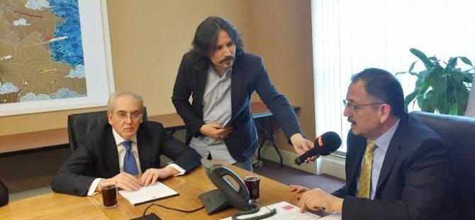 DOST Parti Milletvekilleri, Özhaseki'yi Ziyaret Etti