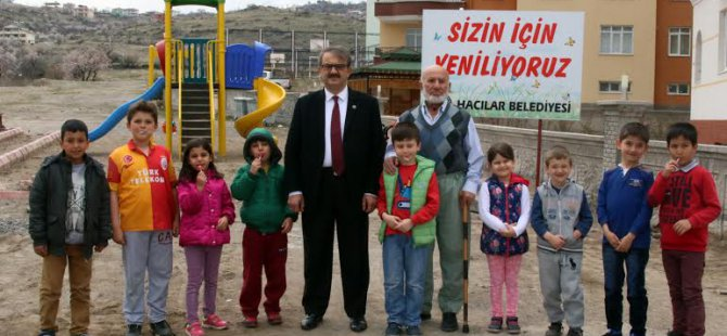 HACILAR ERCİYES MAHALLESİNE PARK MÜJDESİ