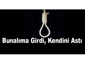 Kayseri'de Kendisini banyoda bulunan boruya asarak intihar etti