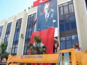 CHP'li Torbalı Belediyesi T.C İbaresini Kaldırdı